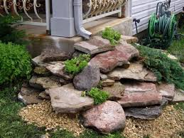 Easy Landscaping Ideas For Front Yard - best 25 landscaping with rocks ideas on pinterest rock flower