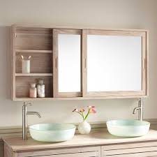 Cheap Mirrored Bathroom Cabinets 55 Wulan Teak Medicine Cabinet Medicine Cabinets Teak And Medicine