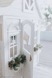Wedding Arch Kmart Thrifty Mum Transforms Her Daughter U0027s Kmart Cubby House Daily