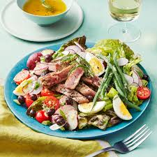 cuisine nicoise grilled tuna nicoise salad with anchovy dressing rachael every day