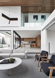 warm brown tones in a white swedish home modern home design