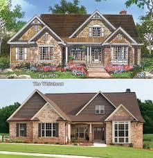 the whiteheart plan 926 rendering vs reality www dongardner com