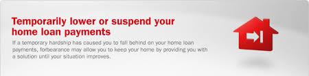mortgage loan forbearance bank of america