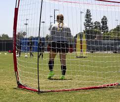 amazon com powernet soccer goal 12x6 portable bow style net