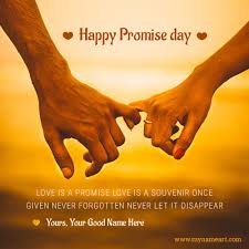 promise day pictures editor best wishes greetings wishes greeting card