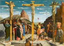 execution jesus hangs on the cross