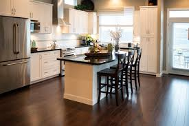 Hardwood Floors With White Cabinets Choosing The Right Kitchen Flooring The Allstate Blog