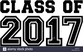 class of 2017 college font stock photo royalty free image