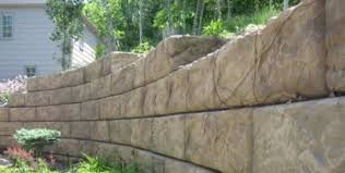 Decorative Splash Block Large Retaining Wall Blocks Recon Wall Systems