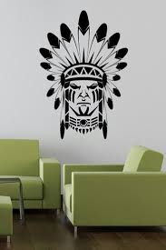 60 best people characters images on pinterest wall stickers indian face with paint wall sticker art decal