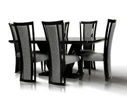 Marble Dining Room Sets Libra Modern Black Marble Dining Set