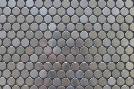 stainless steel penny round mosaic tiles  rocky point tile  with stainless steel penny round mosaic tiles  rocky point tile  glass and  mosaic tile store from rockypointtilecom
