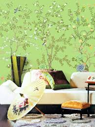vintage taupe chinoiserie wallpaper flower branch birds peach lemon green chinoiserie wallpaper exotic birds trees flowering peony branch wall mural oriental japanese painting asian