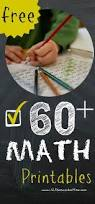 Free Math Worksheets 1st Grade 61 Best Free Math Printables Images On Pinterest Math Numbers