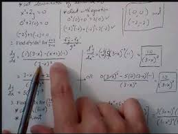 ch 2 derivatives test review worksheet 2 youtube