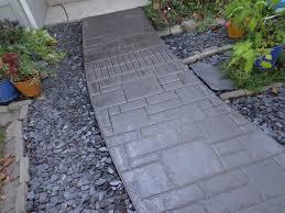 Decorative Concrete Kingdom Sidewalk Bryan Oh Stamped Concrete Recoloring Www Suprem