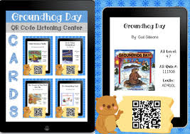 thanksgiving day by gail gibbons groundhog day qr code listening center printable my ed tech world