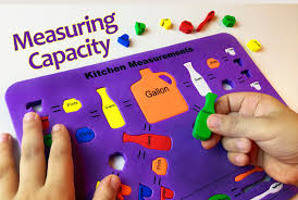 32 cups to gallons squishy kitchen measurements puzzle capacity 4 cups pints