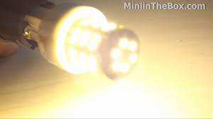 48 led 150lm warm white light bulb from miniinthebox youtube