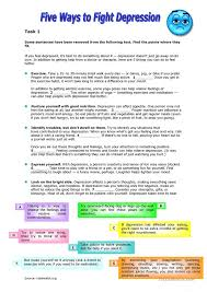 depression worksheets free worksheets library download and print