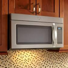 home depot black friday microwave whirlpool 1 7 cu ft over the range microwave in stainless steel
