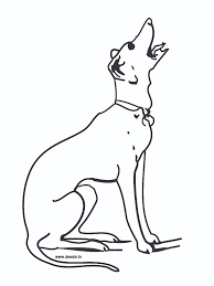 barking dog coloring page kids drawing and coloring pages marisa