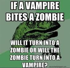 Velociraptor Meme - if a vire bites a zombie epic trolled funny pictures and comics