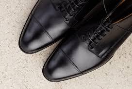 handmade men black leather boots dress boots for men men ankle