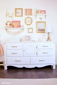 Wall Decor Bedroom Chippy Glam Dresser Makeover Gallery Wall Room Decor And Wall Decor