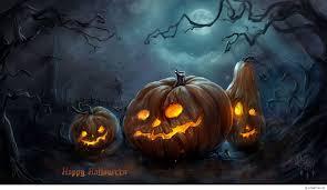cute halloween background monkey lighted halloween pumpkins hd desktop wallpaper high definition