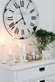 silver pendulum wall clock 15 country style vintage wall clock