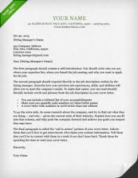 how to create a cover letter for resume 12 contact information