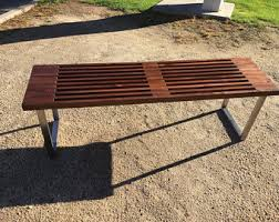 Nelson Bench Replica Slat Bench Etsy