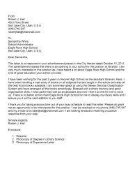 clinical laboratory technician cover letter