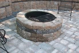 Patio Firepits Pits For Patios Home Design Ideas And Pictures