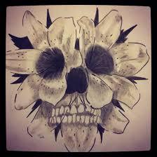 flower skull 1 filter by snco art0713 on deviantart