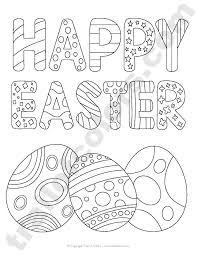 happy easter tracing coloring happy easter easter free