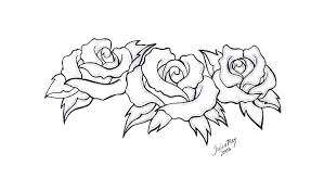 three roses design by tailormaid on deviantart