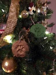 adorable puppy paw print salt dough ornaments craft projects for