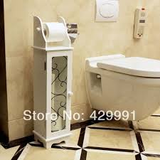 Toilet Paper Storage Cabinet Aliexpress Buy Simple White Storage Cabinet Box Toilet Paper