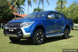 mitsubishi adventure 2017 driven 2017 mitsubishi triton vgt malaysia review