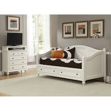 Bedroom Furniture With Storage Underneath Bedroom White Daybed With Storage Two Drawers Underneath Feat