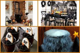 cheap halloween decorating ideas indoor