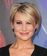 tucked behind the ear haircuts chelsea kane short straight casual hairstyle with side swept bangs