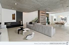 Industrial Home Interior Design Elegant Home With Concrete Interiors In Czech Republic Home