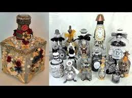 photos of recycled diy bottles art home decoration pics painted