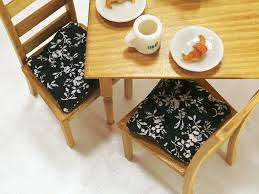 enchanting red kitchen chair pads including seat cushion for