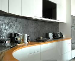 beton ciré mur cuisine peinture beton cire mur idées décoration intérieure