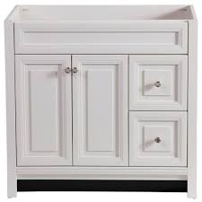 modern 36 inch bathroom vanity without top brinkhill in cabinet