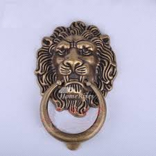antique bronze lion door knocker brass gold antique bronze carved